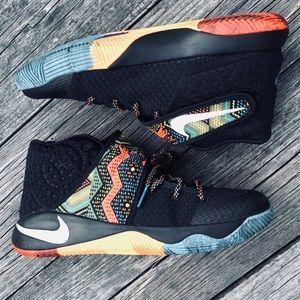 Nike Kyrie 2 BHM Tribal Print